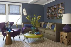 Wellesley Jewel Tone Living Room
