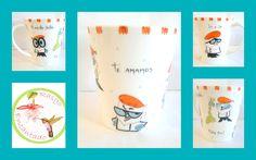 Jarro - Pintura sobre porcelana Rasgo Encantado