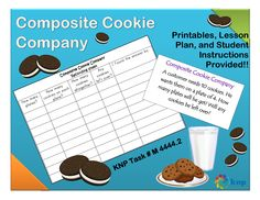 """""""Composite Cookie Company"""" - Use skip or stress counting to find the total number of items when arranged in groups. Supports learning Common Core Standards: 3.OA.7, 3.OA.1, 3.OA.2, 2.NBT.2 [KNP Task # M 4444.2]"""