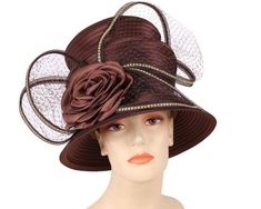 3630b70dcff Women s formal dressy church and derby hats