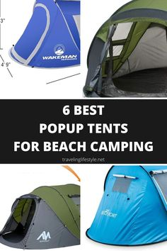 A tent is a staple when it comes to outdoor camping. Not having the right tent can make for a less than stellar camping trip. Having the right tent however, while not breaking the bank to purchase one, is one of the keys to enjoying yourself while camping. A popup tent is a great option for camping, budget-friendly and come with little hassle. The ease of setting up a popup tent makes the task not only quick and easy, but fun to do as well. Beach Camping, Outdoor Camping, Outdoor Gear, Camping Ideas, Best Vacation Spots, Best Vacations, Top Travel Destinations, Best Places To Travel, Best Travel Gadgets