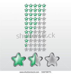 Feedback vector concept. Rank, level of satisfaction rating. User experience. Customer feedback. Review of consumer. feedback in form of green and metal stars