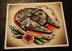 star wars tattoo | Brisa Ink