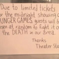 LOL <3 hunger games