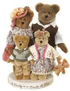 Boyds Bears :: The Beary Brooks..a family circle of love :: Exclusive Limited Plush
