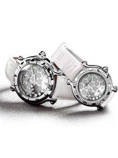 Chopard Happy Snowflake Watches. Available at London Jewelers!