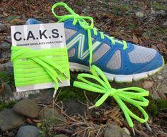 CAKS - Neon Green Shoelaces