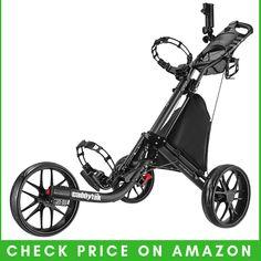 CaddyTek EZ Fold 3 Wheel Junior Golf Clubs, Used Golf Clubs, Golf Trolley, Golf Carts, Electric Golf Push Cart, Best Golf Cart, Golf Club Reviews, Golf Mk4, Cool Umbrellas
