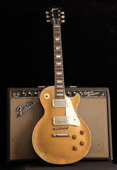 Vintage Les Paul Goldtop & Fender Deluxe Reverb