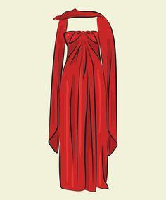 Elizabeth Taylor's Richard Tyler dress from the 1976 Academy Awards
