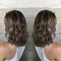 Image result for smokey ash brown hair balayage