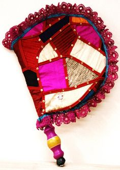 Traditional Punjabi Pakhi (hand fan ) Rang De Basanti, Aboriginal Art For Kids, Punjab Culture, Pictures With Deep Meaning, Wedding Symbols, Indian Colours, Wedding Gift Boxes, Drawing Projects, Indian Home Decor