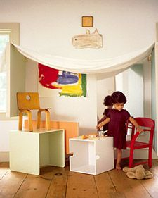 Kids play room. Imagination. Creativity.