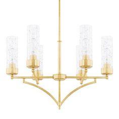 Capital Lighting 419461CG-417 Regan - Six Light Chandelier