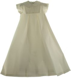 Hiccups Childrens Boutique - Infant Boys or Girls Unisex Ivory Silk Christening Gown Sarah Louise, $145.00 (http://www.hiccupschildrensboutique.com/infant-boys-or-girls-unisex-ivory-silk-christening-gown-sarah-louise/)