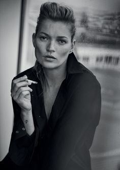 Kate Moss, Paris, 2015 (Giorgio Armani, SS 2015). This will appear in the Rotterdam's Kunsthal musuem Peter Lindbergh exhibition next year. Picture credit: Peter Lindbergh Studio, Paris Gagosian Gallery