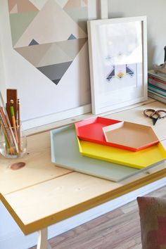 DIY: CREATE A BEAUTIFUL DESK WITH IKEA PARTS | THE STYLE FILES