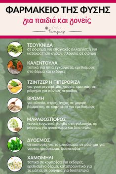 Φαρμακείο της φύσης - Pharmacy of nature - Pharmacy-of-nature Healthy Mind And Body, Healthy Life, Healthy Living, Health Diet, Health And Wellness, Health Fitness, Baby Food Recipes, Diet Recipes, Healthy Recipes