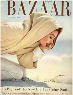 1956, Richard Avedon #Fashion #Covers #Magazines