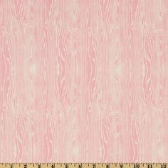 Aviary Light PINK Woodgrain Fabric by Joel Dewberry - 1 yard