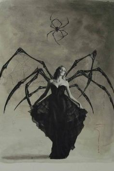 """""""Will you walk into my parlour?"""" said the spider to the fly. """"Tis the prettiest little parlour you will ever spy."""""""