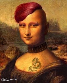 Desde que Lisa Gherardini se separó de Francisco del Giocondo, quiere ser moderna, libre y desprejuiciada.