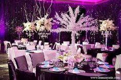purple wedding centerpieces - Google Search