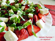 Caprese Salad, Feta, Cheese, Salads, Insalata Caprese