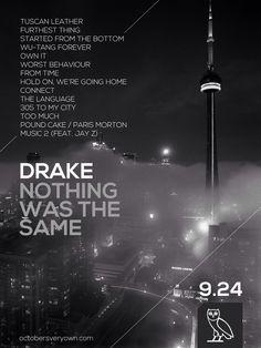 Drake Posters, fall 2013.