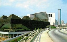 Omni Coliseum - Atlanta, GA  Former Home of the NBA Atlanta Hawks  Demolished in 1997