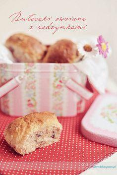 Słodkie bułki z rodzynkami Spoon, Breakfast, Blog, Morning Coffee, Spoons, Blogging