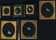 William Langenheim, Frederick Langenheim, Eclipse of the Sun, May 26, 1854