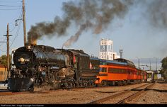 RailPictures.Net Photo: MILW 261 Chicago, Milwaukee, St. Paul & Pacific Steam 4-8-4 at Minneapolis, Minnesota by Tom Farence