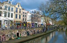 Utrecht, north of Amsterdam