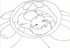 ponyo coloring pages - Google Search