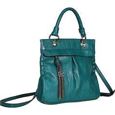 Jessica Simpson Charlote Crossbody Emerald - Jessica Simpson Manmade Handbags