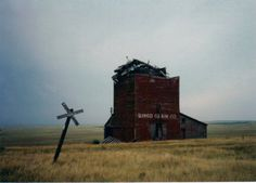 A ghost town in South Dakota.