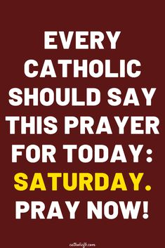 Powerful prayer of the first saturday of the month for all catholics. Catholic Prayer For Healing, Prayers For Healing, Jesus Prayer, God Jesus, Prayer For Today, Blessed Virgin Mary, Power Of Prayer, Spirituality, Sayings