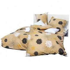 Holey Quilt® Bavlnená obliečka Nashira brown 140x200,70x90