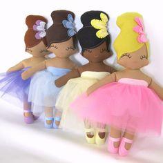 Belinda Ballerina Rag Doll - MADE TO ORDER by rileyconstruction on Etsy https://www.etsy.com/listing/213649493/belinda-ballerina-rag-doll-made-to-order