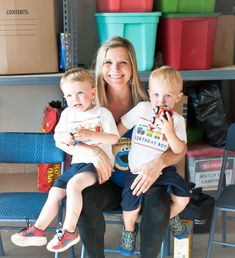 """My son just recently turned two and has been all about Elmo and Sesame Street (not to mention Thomas the Train!!). To combine these two """"loves"""" of his, I decided to have a party theme …"""