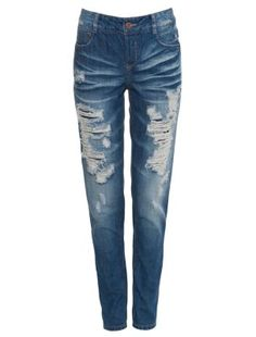 Only 32in Blue Bermuda Boyfriend Jeans
