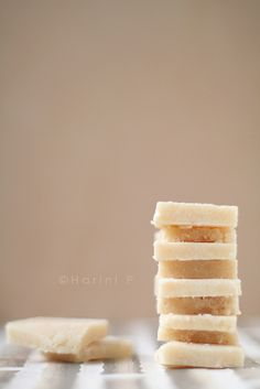 Badam barfi - Almond Candy Cuts (Vegan)