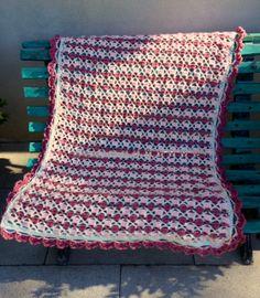 Crochet blanket for Dominica