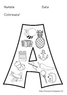 Litera A download pdf litera a   Litera M download pdf litera m Litera B download Litera B  Litera Z   Cartea literelor Cartea ABC Alphabet Writing, Learning The Alphabet, Alphabet Activities, Kindergarten Activities, Kids Learning, Abc Centers, Preschool Decor, Alphabet Coloring Pages, Teacher Supplies
