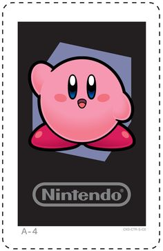 Nintendo 3DS AR Cards | Kirby