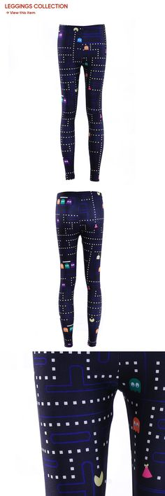 Leggings Hot Women Space Print Pants Fitness Legging Pac-Man Woman Sweatpants High Quality Digital Jeggings Plus Size Leggins Cheap Leggings, Pac Man, Print Pants, Workout Leggings, Jeggings, Sexy Women, Cute Outfits, Sweatpants, Plus Size