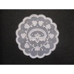 Claddagh in Irish Lace - Carrickmacross Lace
