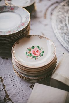 vintage plates | Angela Cox