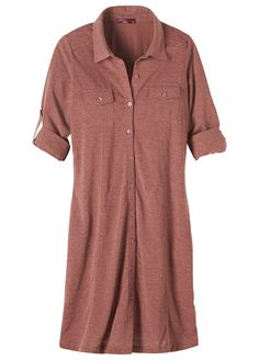 This classic utilitarian shirt dress is the perfect fair trade certified style to transition your wardrobe into fall. Head to prAna.com for more eco friendly basics to complete your capsule wardrobe for fall and winter.